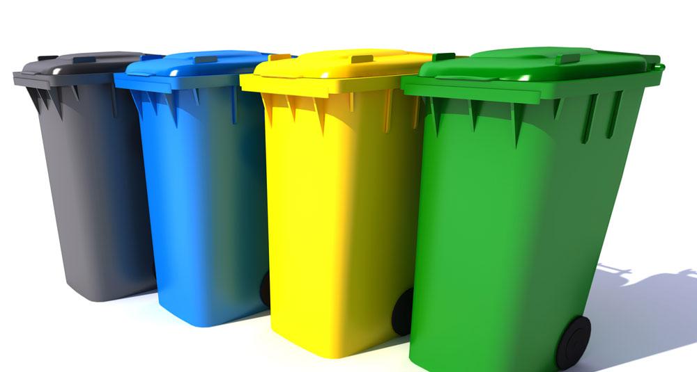 Ekolog pojemniki na śmieci